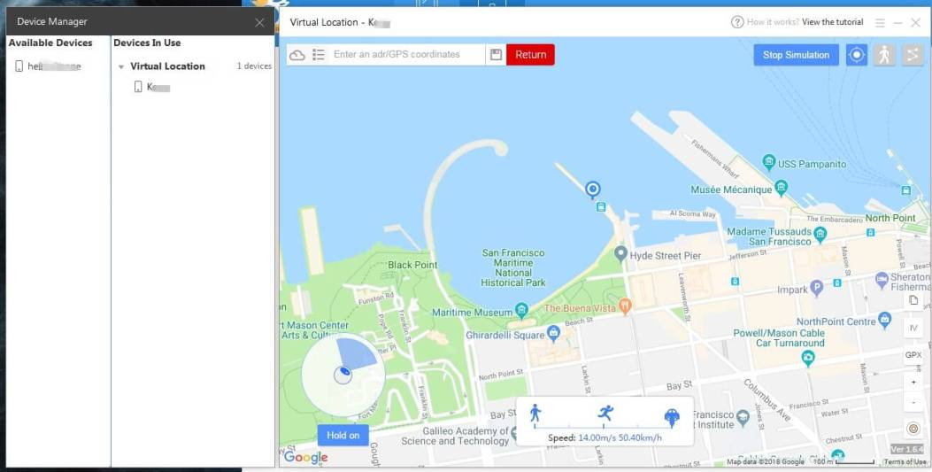 How to fake gps location on iPhone - iTools(Thinkskysoft)