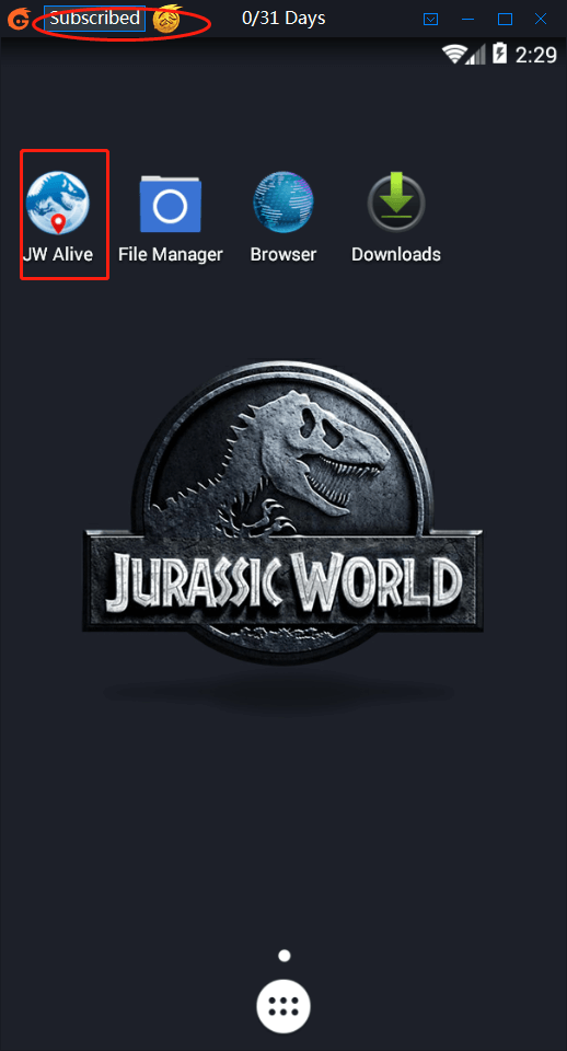 iTools Emulator for Jurassic World Alive