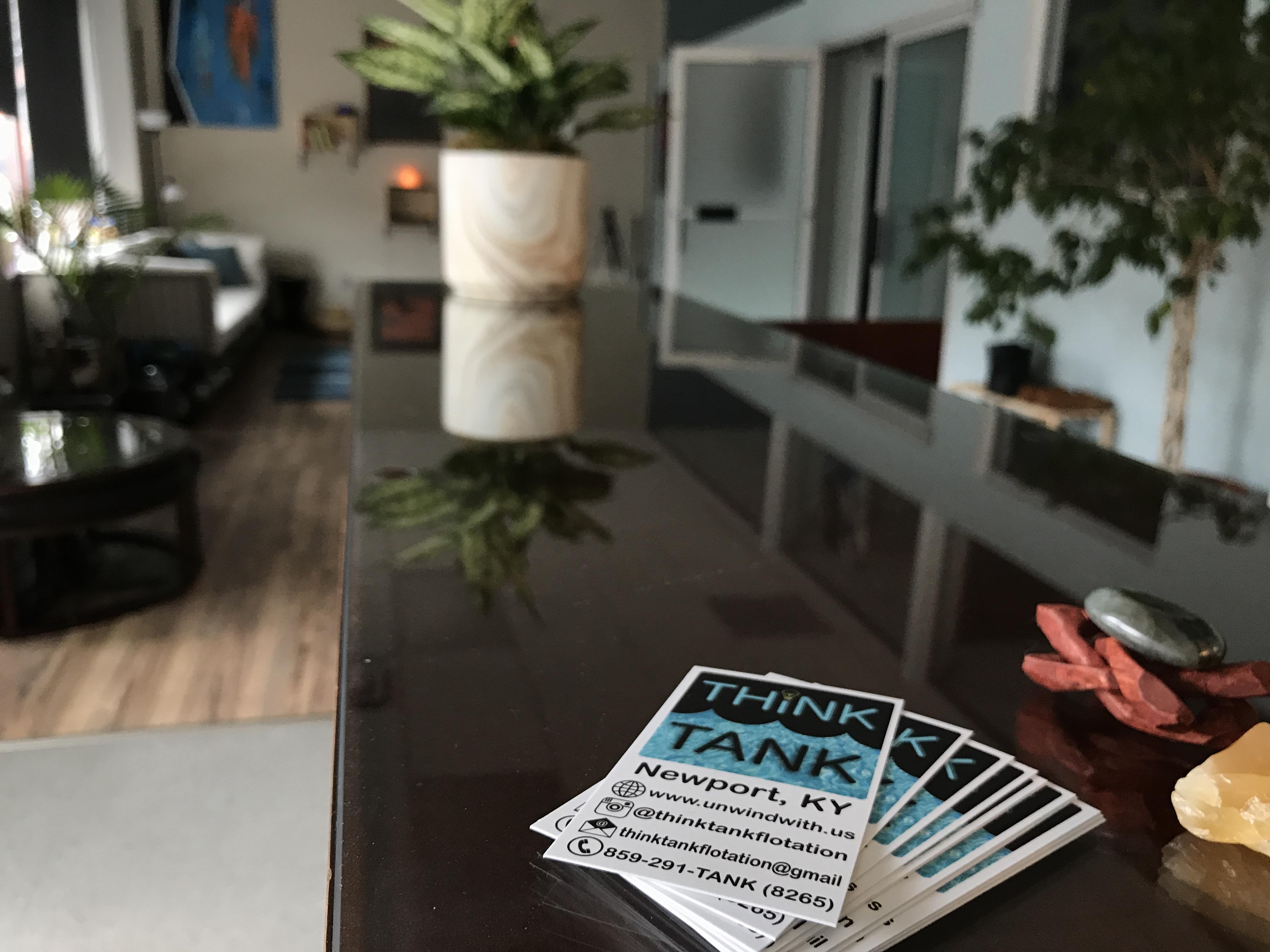 Think Tank, Cincinnati's top float therapy