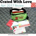 Crated With Love Date Night Box Review: I Love the 80s! (Apr. '17)