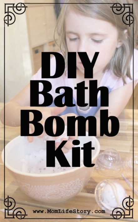 Grow & Make DIY Bath Bomb Kit For Kids - Make Your Own Bath Bombs