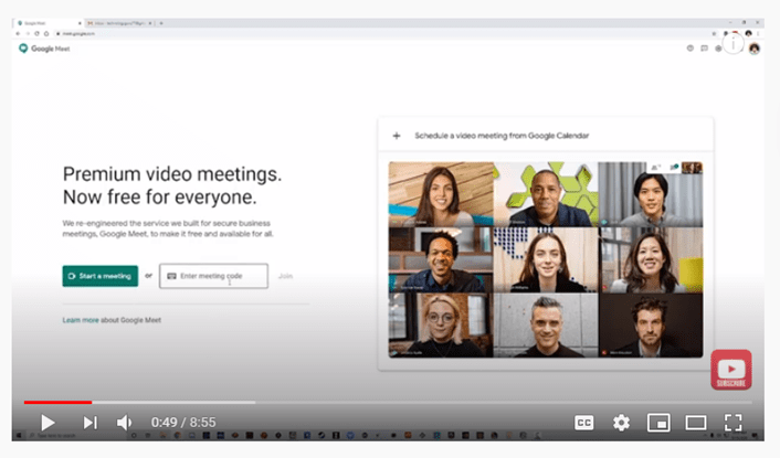 google meet full tutorial and overview