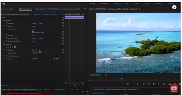 How To Zoom In On Video In Adobe Premiere Pro /// Full Tutorial