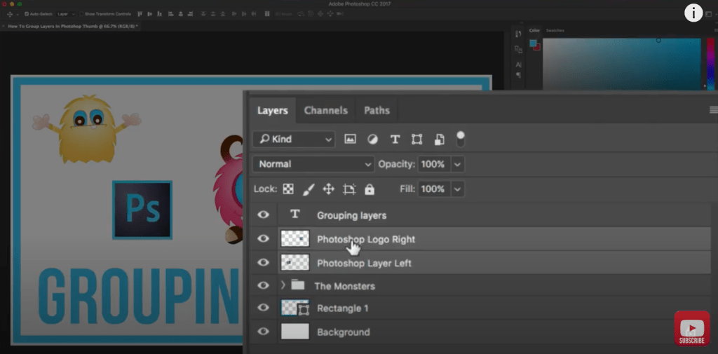 How to Group Layers in Adobe Photoshop