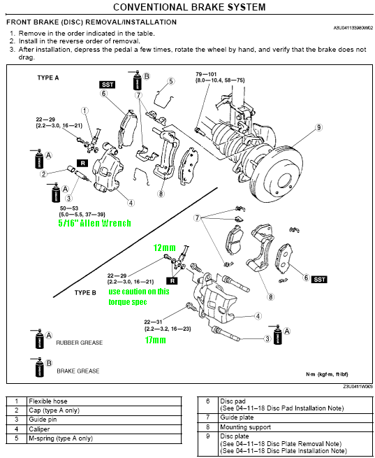 2002 mazda protege5 engine diagram solar wiring with generator brakes disassembly notes