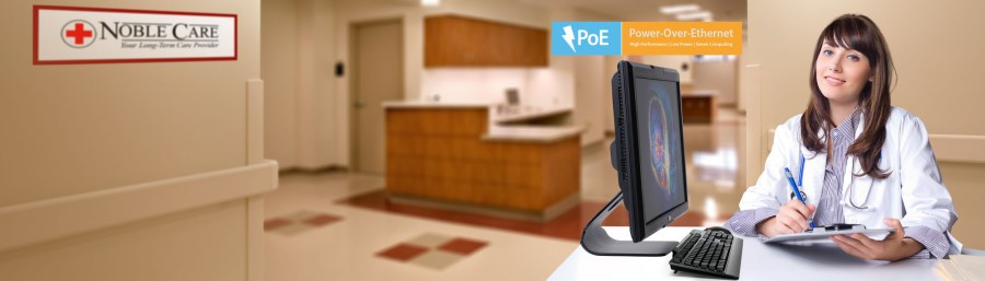 ARGUS Integrated Thin Clients with Point of Care Software for Healthcare Professionals