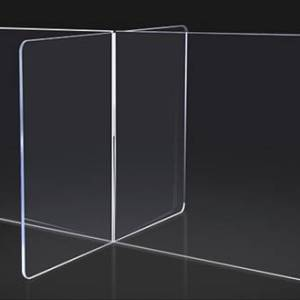 COVID-19 – Protection Shielding   Barrier   Guard 24″ Wide x 40″ High