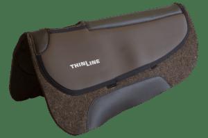 ThinLine Western Pro-Tech Felt Saddle Pad Round Skirt