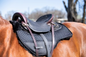 ThinLine Endurance Dropped Rigging Saddle pad Fleece Lined