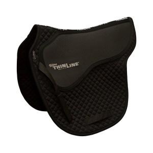 Saddle Seat Cutback Saddle Pad Black