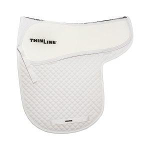 ThinLine Numnah Dressage Saddle Pad White