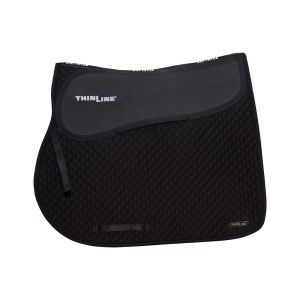 ThinLine Close Contact Jumping Saddle Pad Black