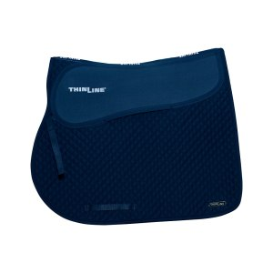 ThinLine Close Contact Jumping Saddle Pad Navy