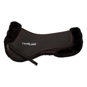 ThinLine Sheepskin Comfort Half Pad DarkBrown
