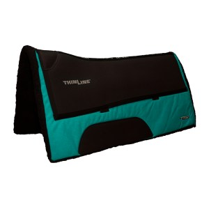 ThinLine Western Ranch Saddle Pad Turqouise