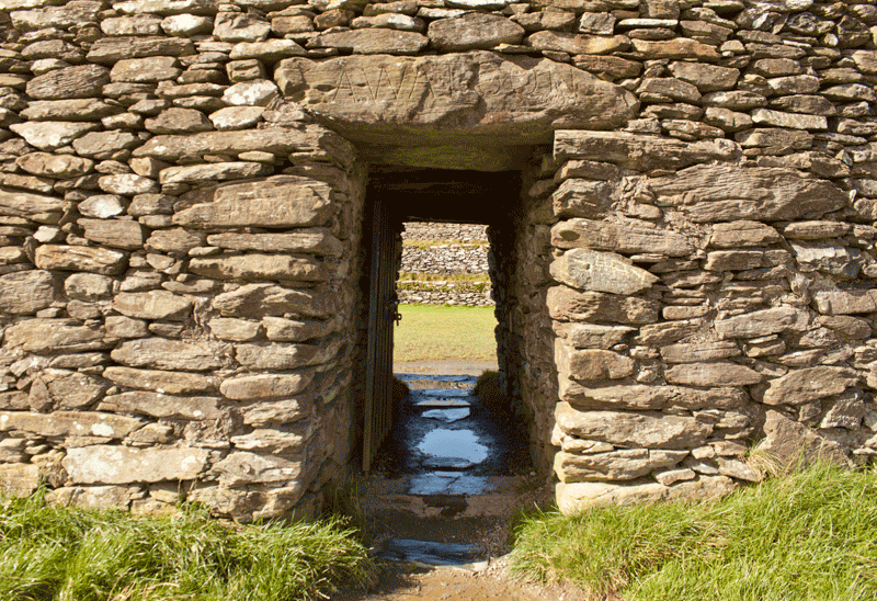 Grianan of Aileach Entrance