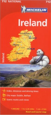 Michelin Map of Ireland