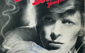 David Bowie Young Americans 1975 single front cover