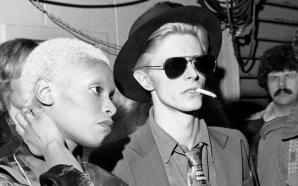 Ava Cherry and David Bowie