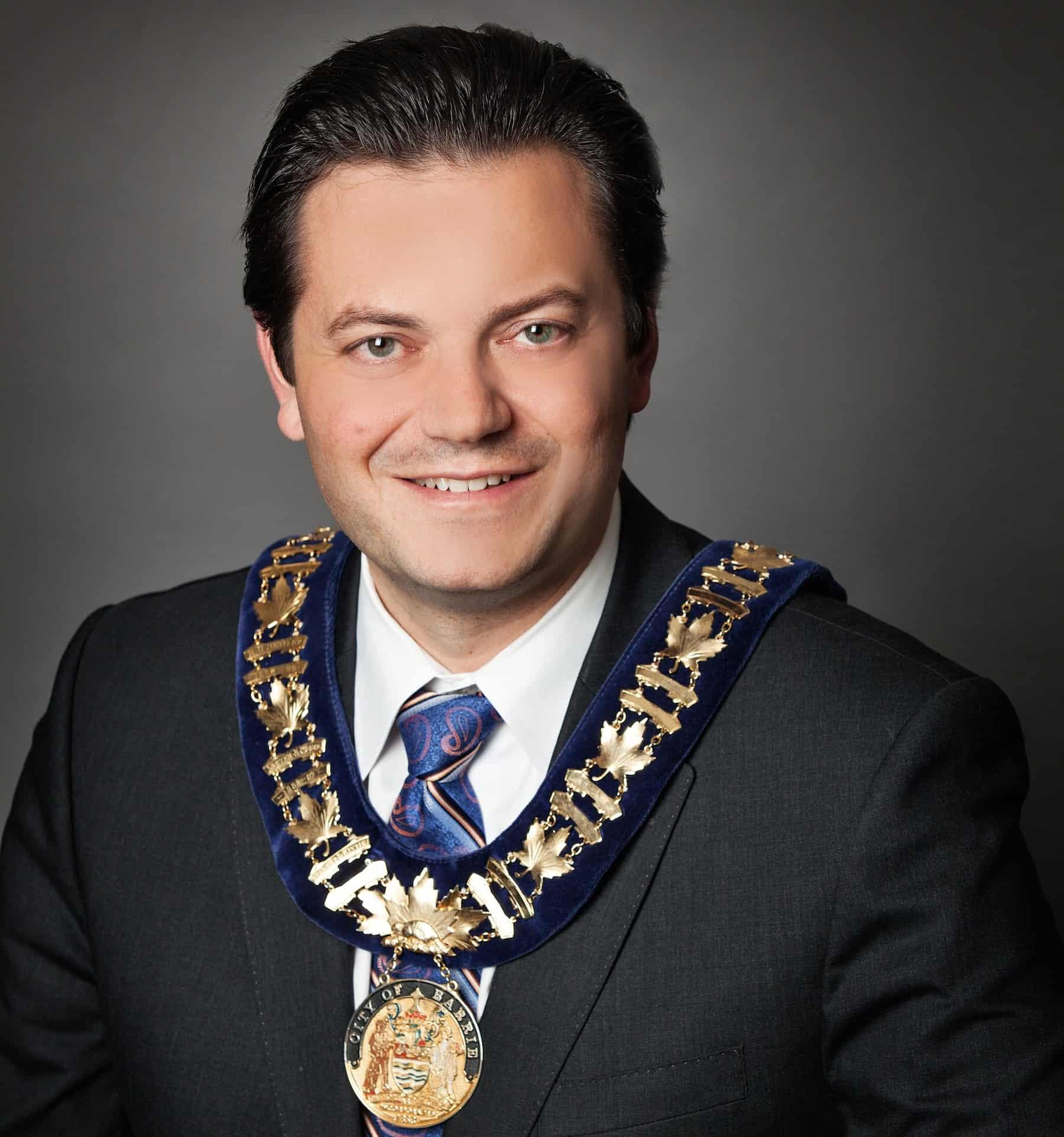 Mayor Jeff Lehman Third Age Barrie