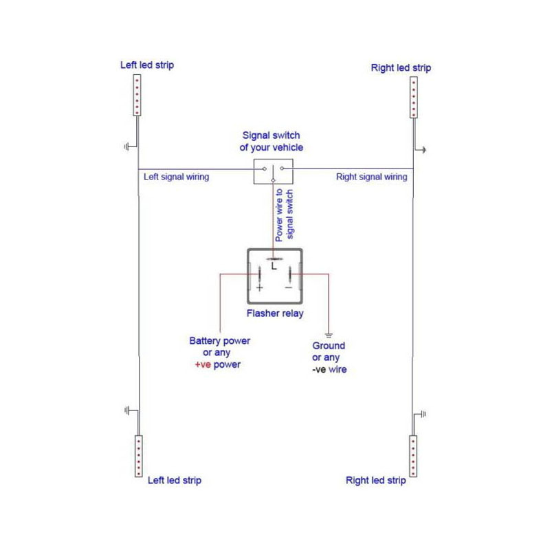 electronic flasher unit wiring diagram electron dot for al 3 pin 12v relay 20 w third gear