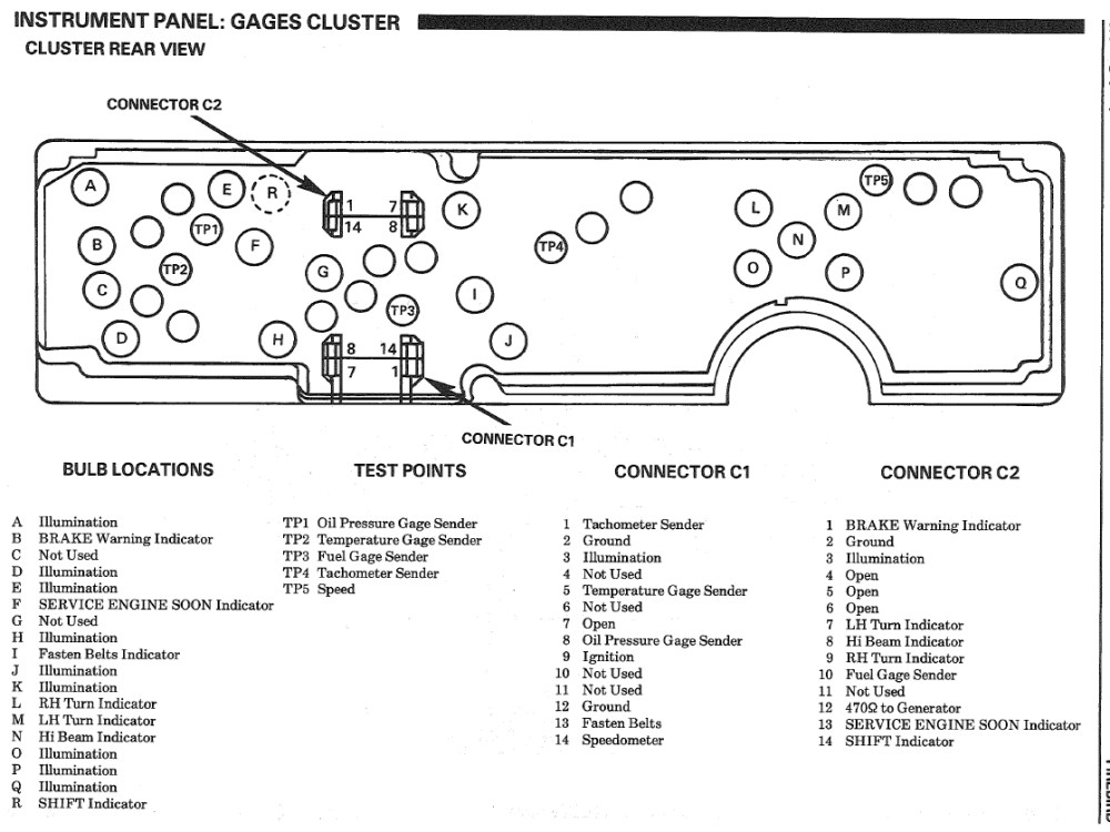 medium resolution of wiring diagram for the digital dash 88 gta third generation f diagram 1988 instrument cluster diagram 1988 instrument cluster