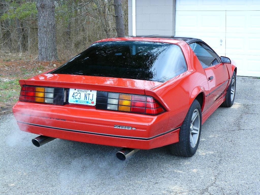 hight resolution of 1985 camaro iroc l69 5 speed rare car florida brians