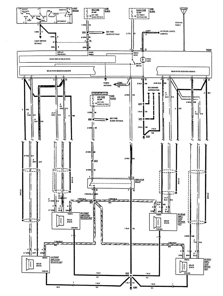 delco stereo wiring diagram 2000