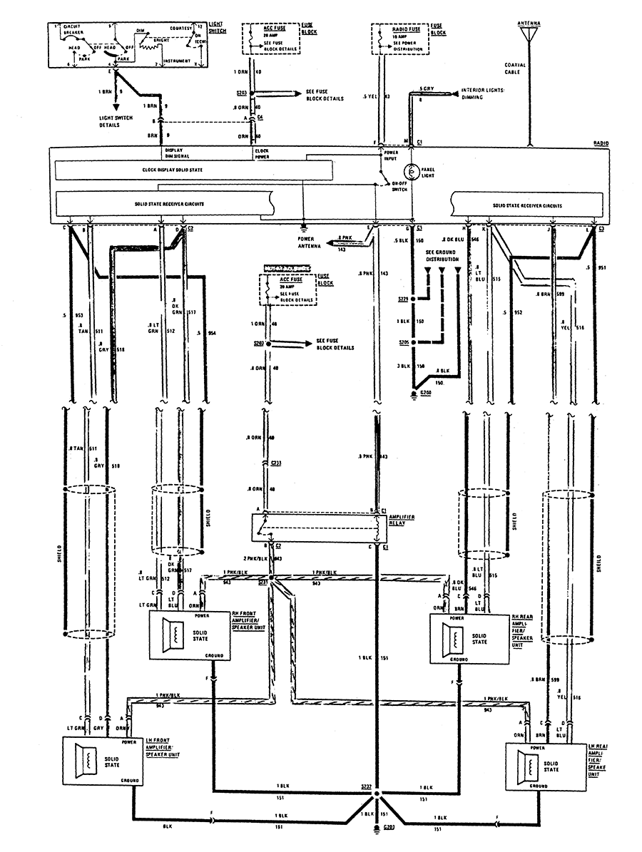 medium resolution of 1983 camaro radio wiring diagram block and schematic diagrams u2022 1978 el camino fuse box