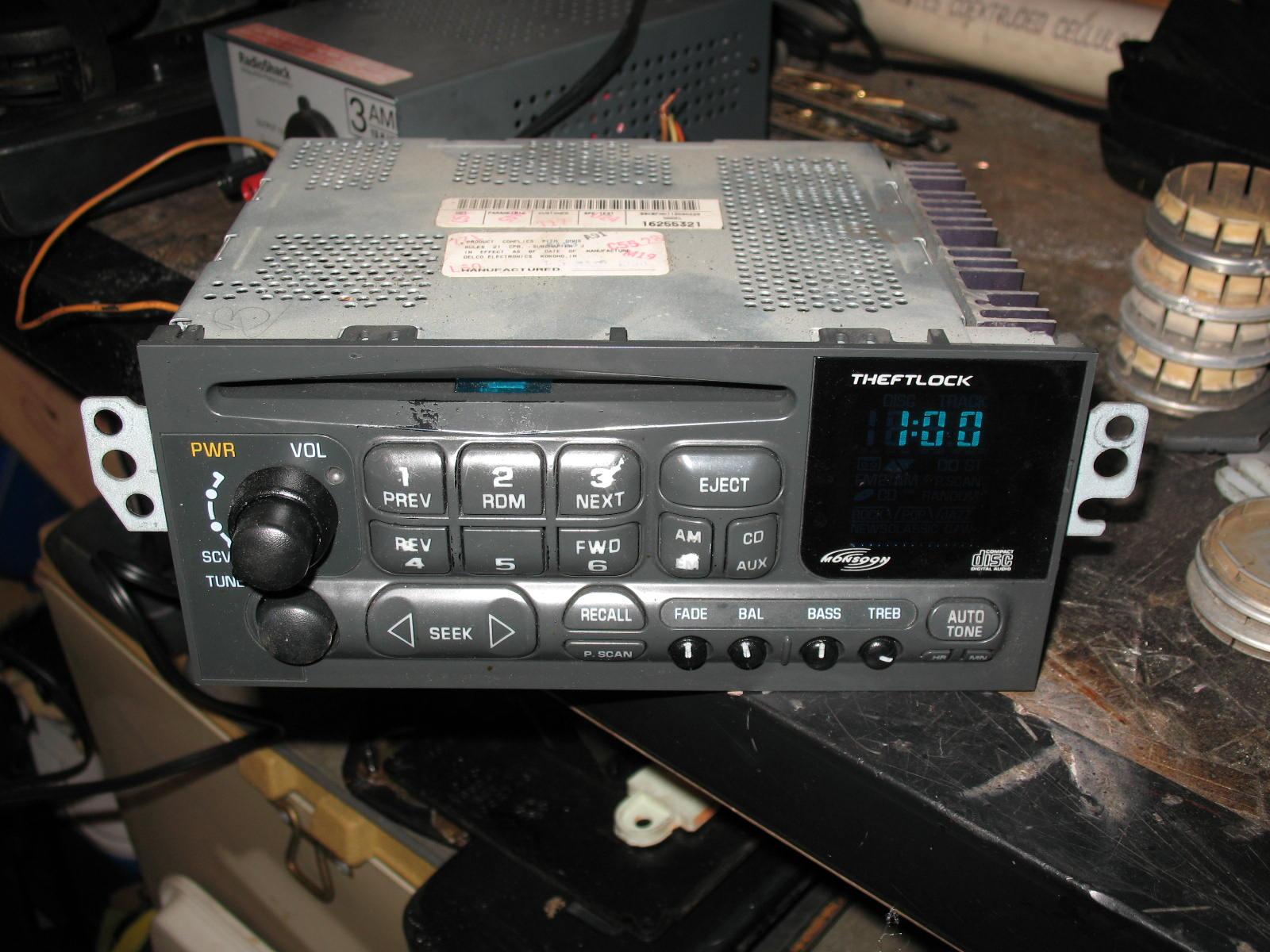 hight resolution of delco radio wiring diagram 15071233 2003 alero ignition delco radio chevy colors delco factory radios wiring