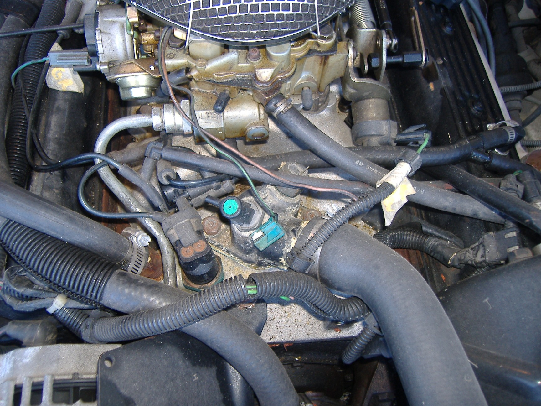 Chevy 350 Engine Vacuum Line Diagram 1987 Chevy Celebrity 1987 Chevy