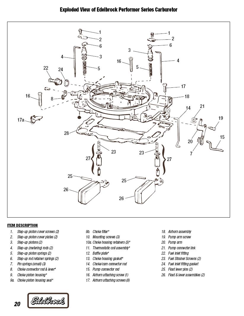 hight resolution of carburetor exploded diagrams third generation f body message boards carburetor parts diagram as well edelbrock carb vacuum diagram