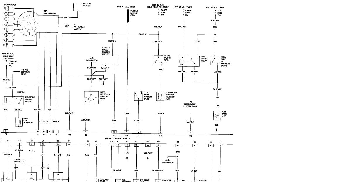 97 Camaro Ignition Wiring Diagram : 33 Wiring Diagram
