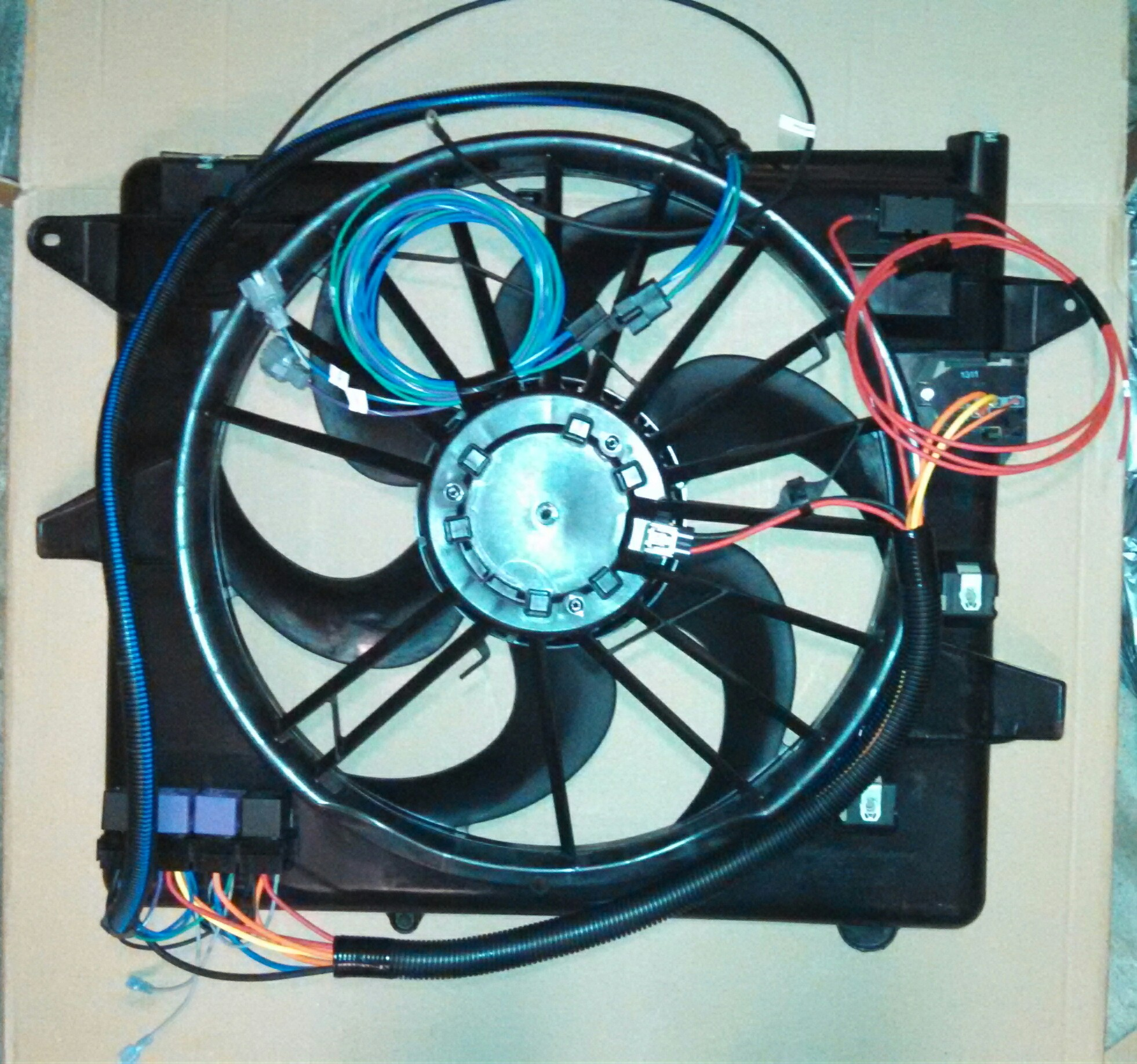 hight resolution of dual fans wiring to switch img 20140823 112529 668 1 jpg