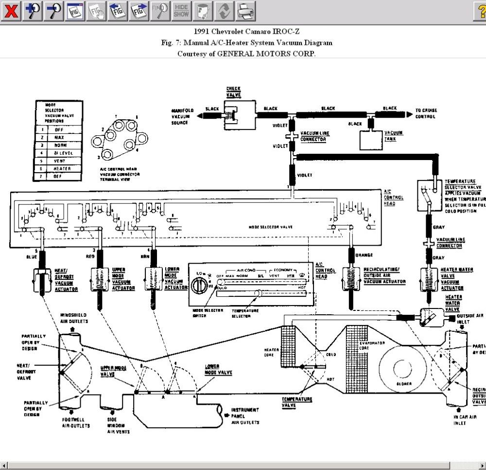 medium resolution of hvac vent vacuum line issues heater vacuum diagram jpg