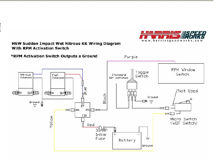 Th400 Wiring Diagram Wiring Up All The Nitrous Goodies Third Generation F