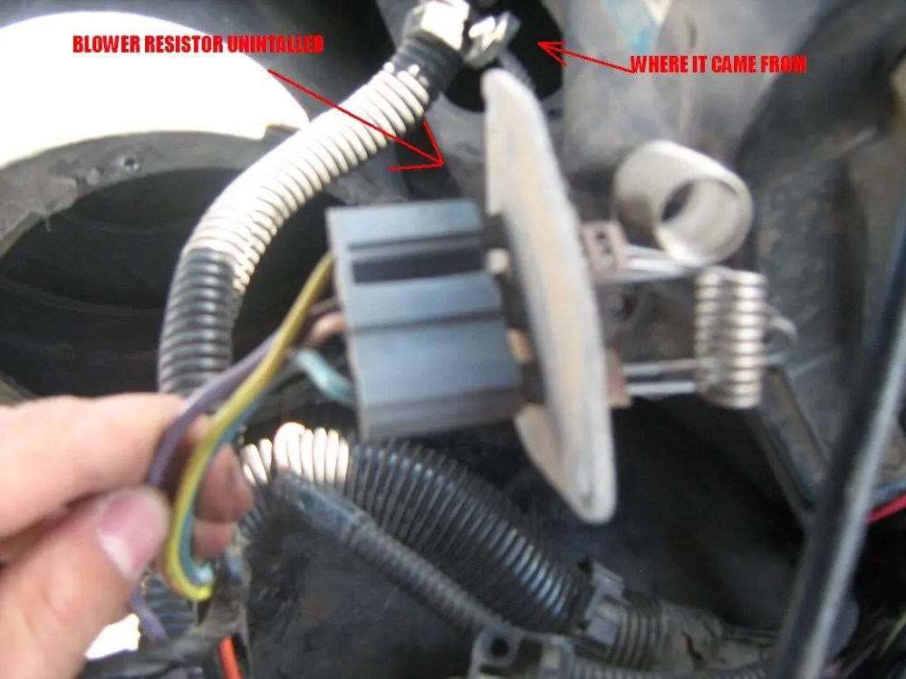 medium resolution of blower fan wiring diagram for chevy