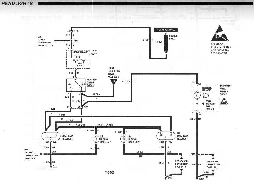 firebird headlight relay wiring diagram