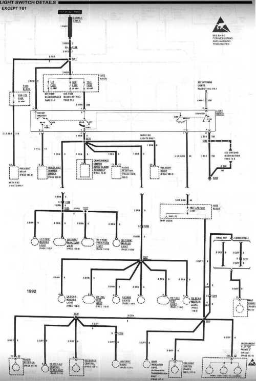 small resolution of 1990 chevy headlight switch wiring diagram