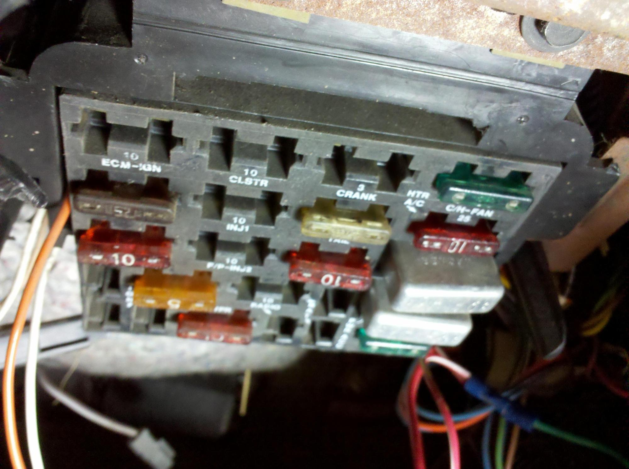 hight resolution of 91 trans am fuse box not lossing wiring diagram u2022 1991 trans am convertible 91 trans am fuse box
