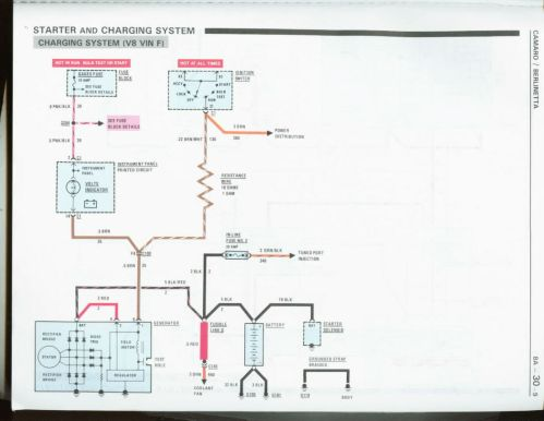 small resolution of 1982 camaro wiring diagram charging system wiring diagram show 1992 z28 show camaro alternator wiring diagram