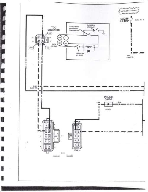 small resolution of 82 trans am transmission wiring question anyone have a wire diagram to share