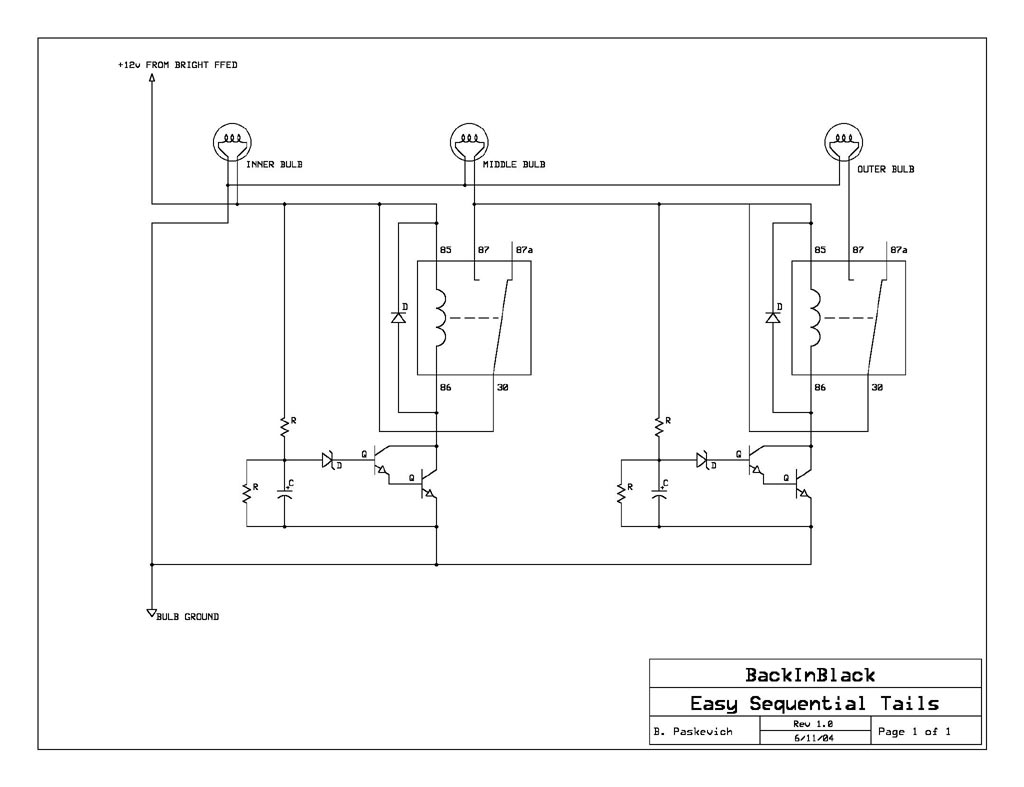 hight resolution of easy diy sequential tails circuit a work in progress diy sequentials