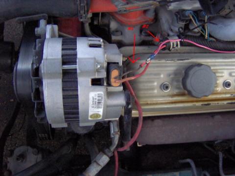 1990 Pontiac Firebird Wiring Schematic 2 Wires On The Alternator Third Generation F Body