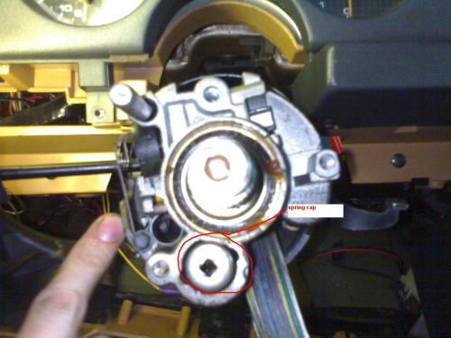 small resolution of steering column feels like a loose tooth