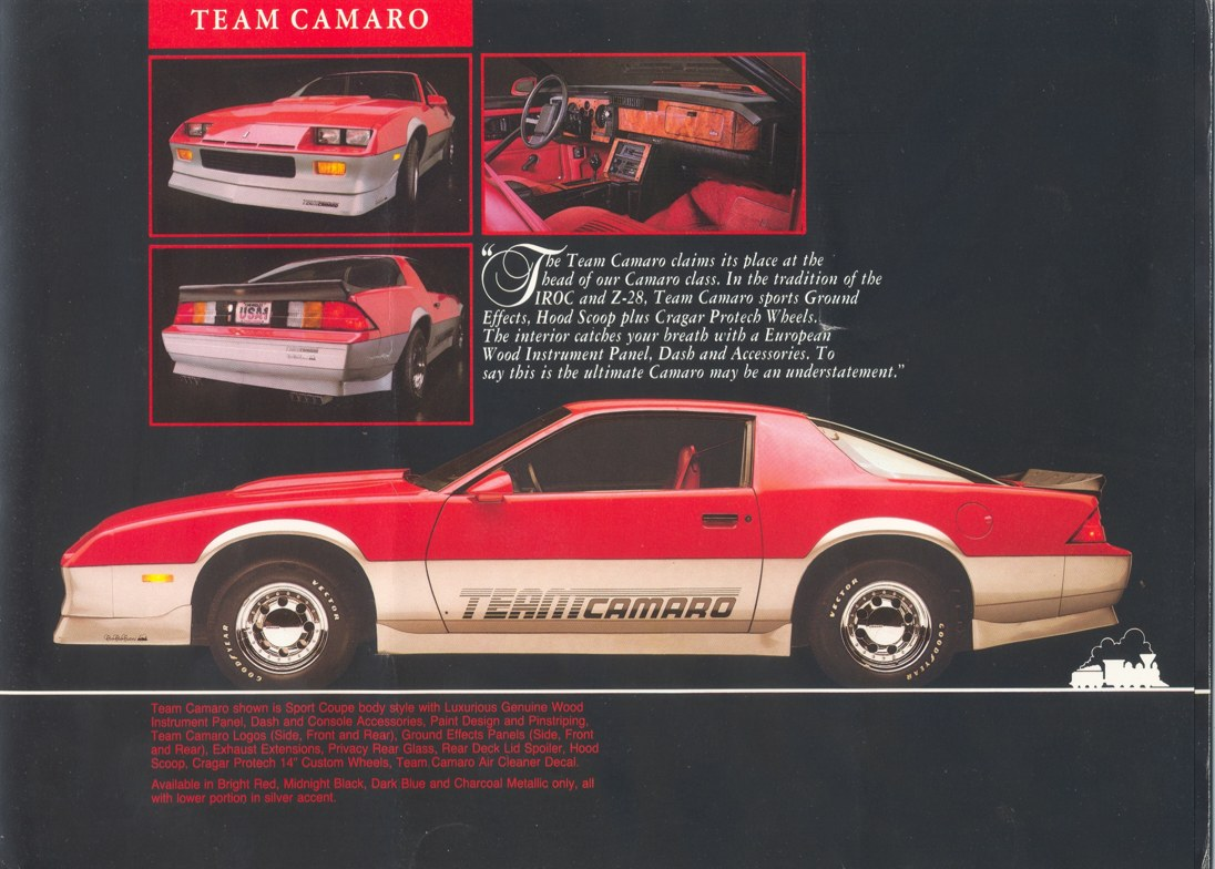 Camaro Team Camaro Tech
