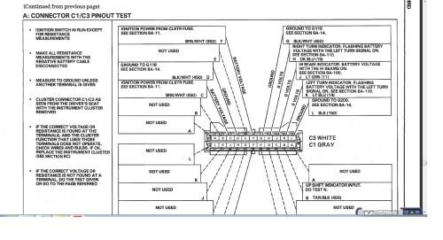 small resolution of 1987 1988 gta digital dash questions 82 11 f body