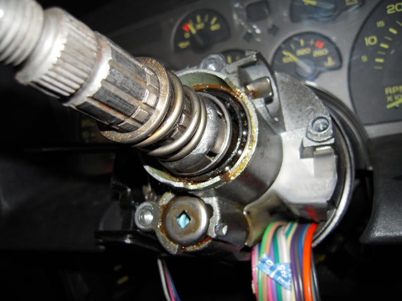 2007 Jeep Wrangler Horn Wiring Diagram Is This Steering Column Put Together Right Third