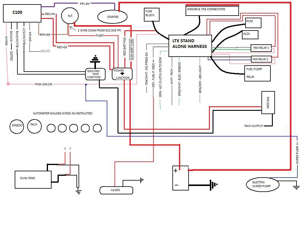 Wondrous 350 Tpi Injection Wiring Harness Wiring Diagram Wiring 101 Archstreekradiomeanderfmnl