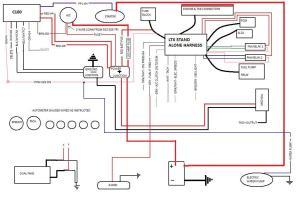 LTX swap wiring diagram  stand alone harness  Third Generation FBody Message Boards